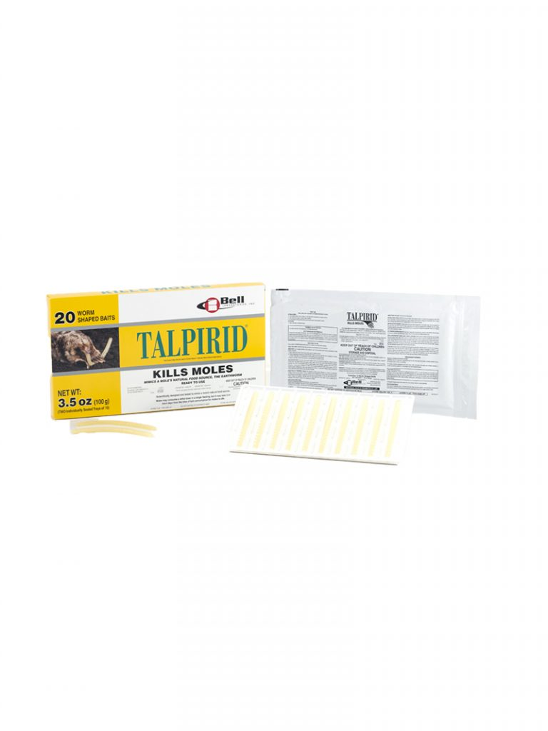 Talpirid Worm Shaped Mole Bait